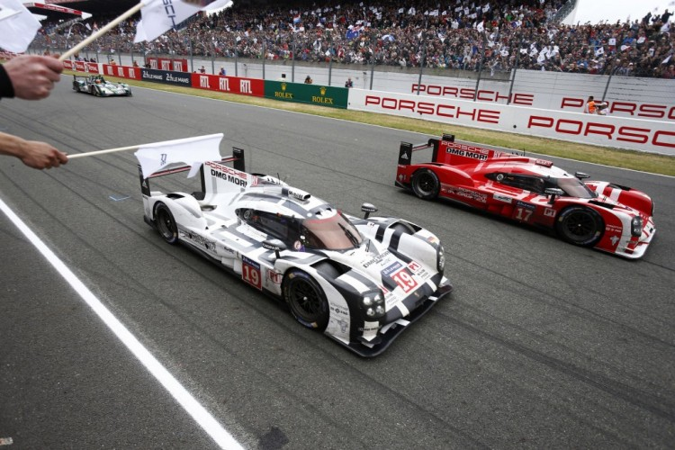 The target: Brabham wants win at Le Mans. (Credit: Porsche AG)