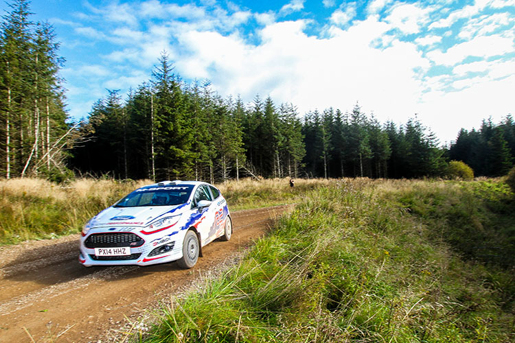 British Rally Championship: 2015 Test Day – Greystoke Park