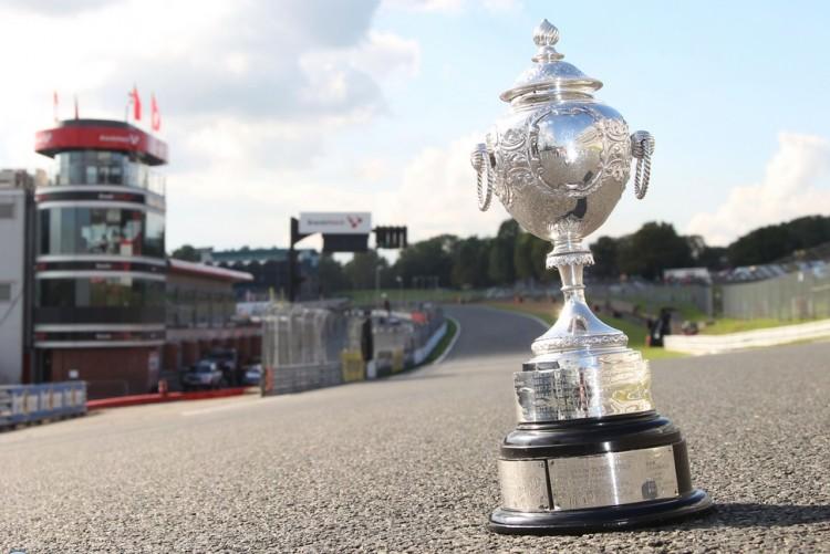 BTCC 2015 trophy