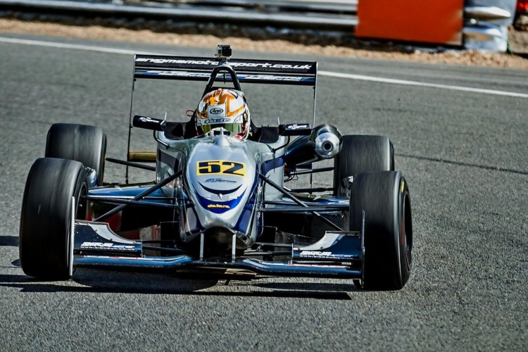 F3 racing was the end of single-seater pathway. (Credit: Ashley Crossey Racing)