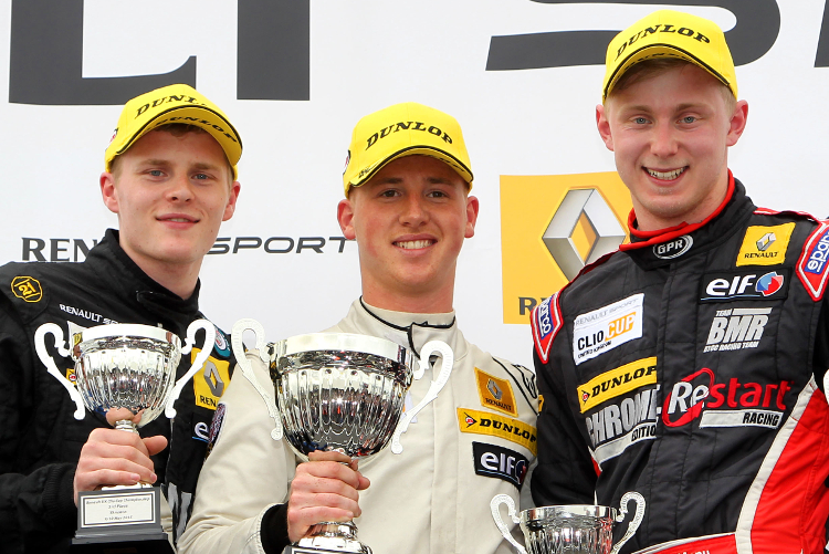 Clio Cup Top Three - Credit: Jakob Ebrey Photography