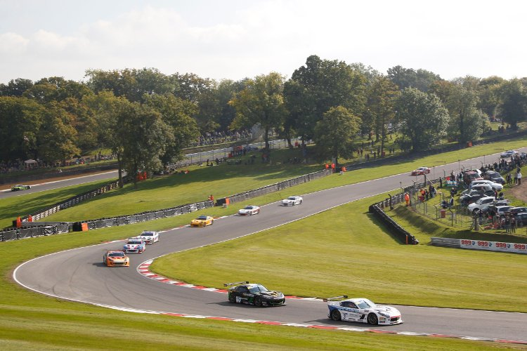 Brands Hatch - The scenic surroundings of Brands Hatch played host to the season finale - Credit: Jakob Ebrey Photography
