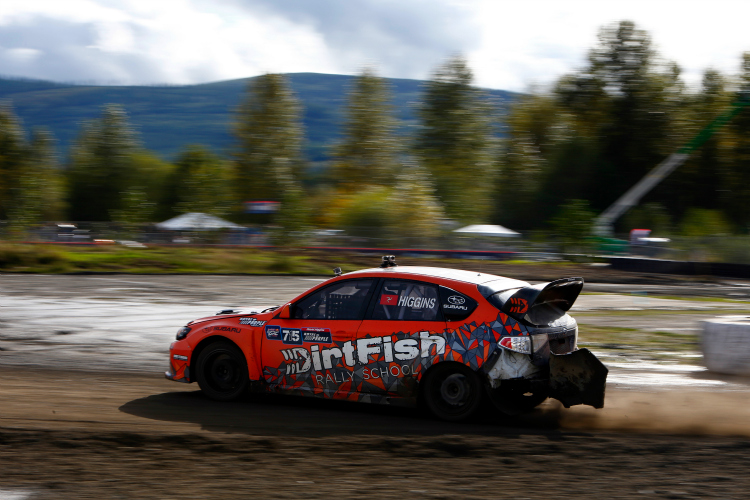 Higgins and DirtFish teamed up in 2014 - Credit: Alison Padron / Red Bull GRC
