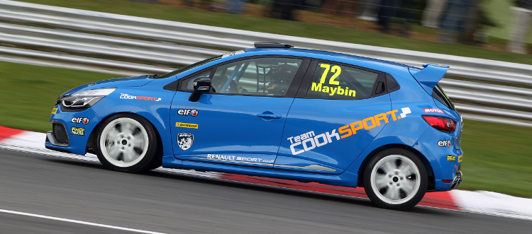 Maybin Took Three Top Six Finishes In His First Six Clio Cup Races - Credit: Jakob Ebrey Photography