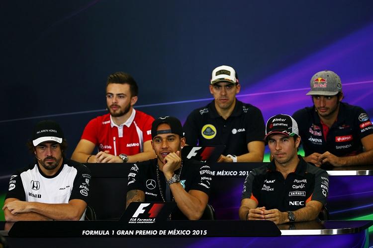 Motor Racing - Formula One World Championship - Mexican Grand Prix - Preparation Day - Mexico City, Mexico