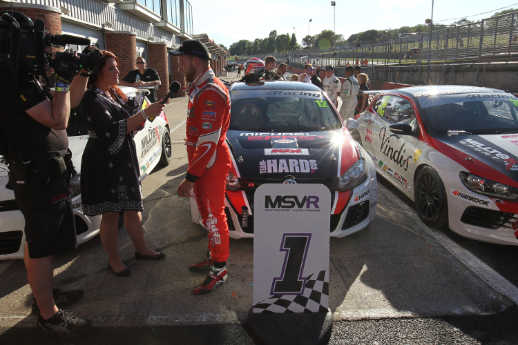 Epps Returned To The Winners Circle At Brands Hatch - Credit: Imagevaults
