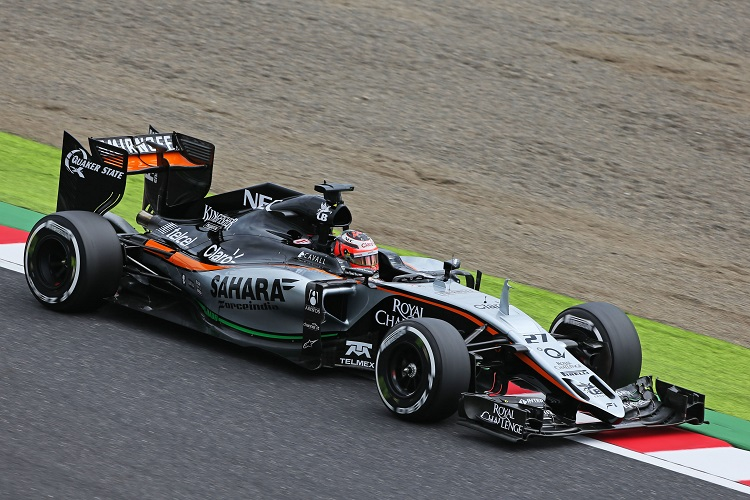 Motor Racing - Formula One World Championship - Japanese Grand Prix - Qualifying Day - Suzuka, Japan