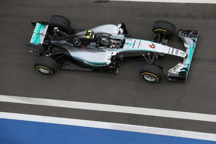 Nico Rosberg 22
