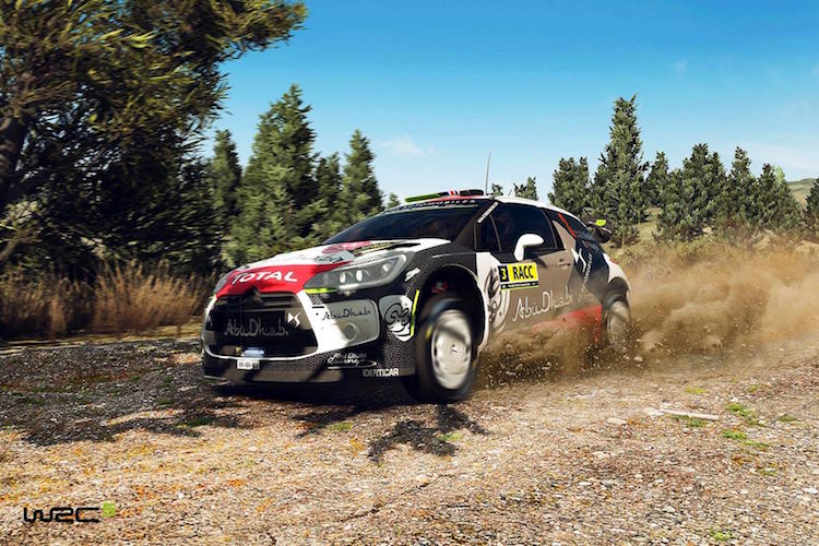 WRC 5 action Citroen copy