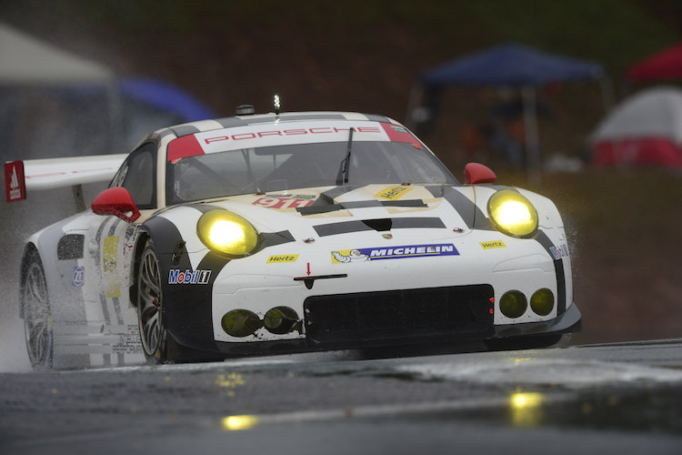 The end of season challenge for Tandy came at Road Atlanta (Credit: IMSA)