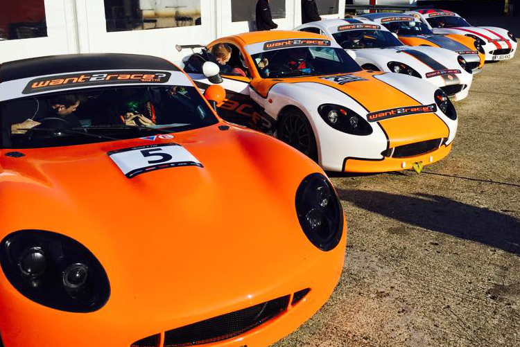 The want2race Finalists Got To Grips With Ginetta G40s - Credit: want2race