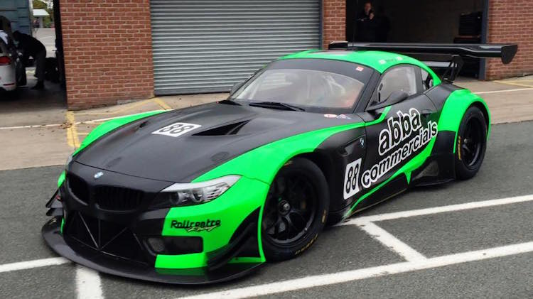 Rollcentre Racing back in British GT with BMW Z4 - The Checkered Flag