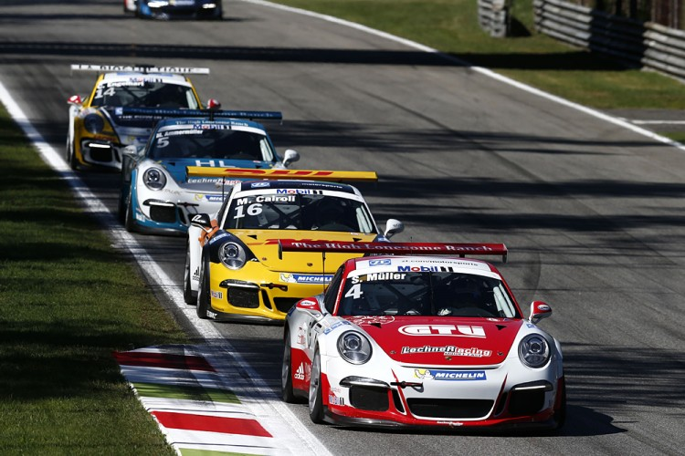 Müller was dominant in the second half of the season. (Credit: Porsche AG)