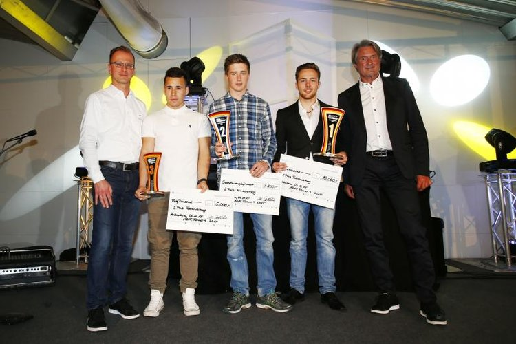 ADAC F4 Trophy Celebrations