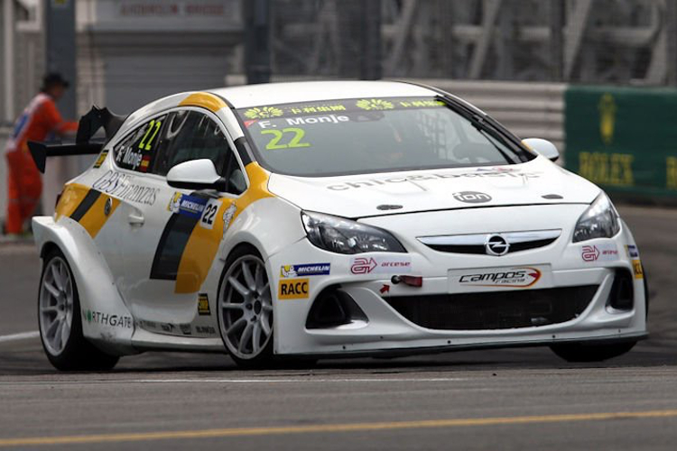 Files Will Race A Campos Racing Opel Astra J OPC - Credit: TCR Series Media