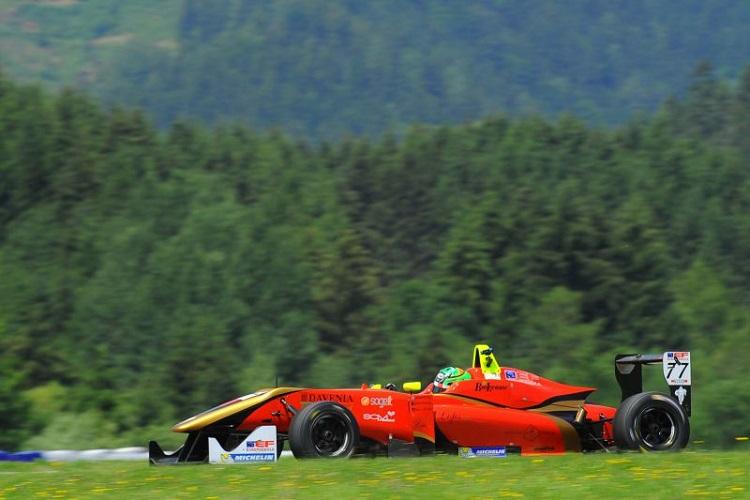 Leonardo Pulcini secured his maiden victory in Austria (Credit: FOTOSPEEDY)