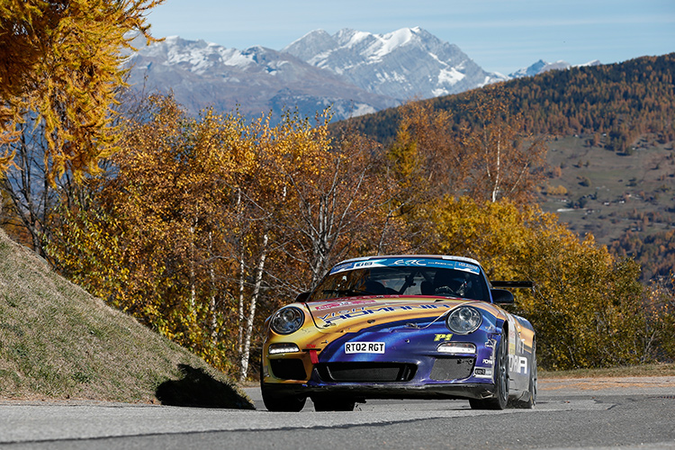 The R-GT Cup joined ERC for Ypres and Rallye International du Valais - Credit: FIA ERC