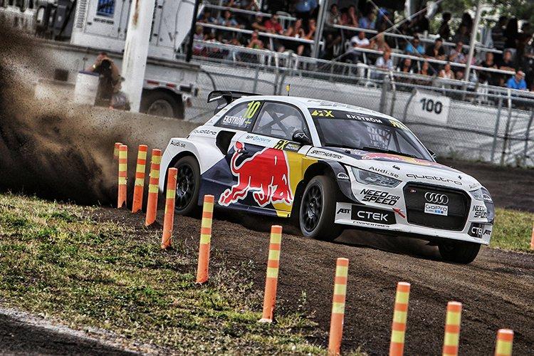 Mattias Ekstrom in action - Credit: @tWorld / Red Bull Content Pool