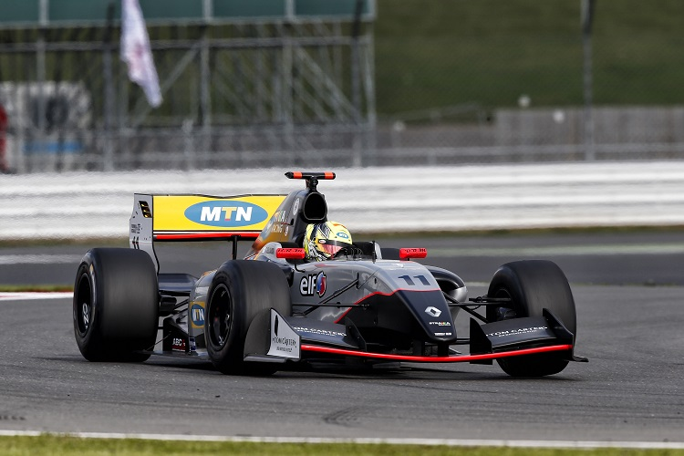 Tio Ellinas secured victories at Silverstone and the Nurburgring (Credit:  Alexandre Guillaumot  / DPPI)