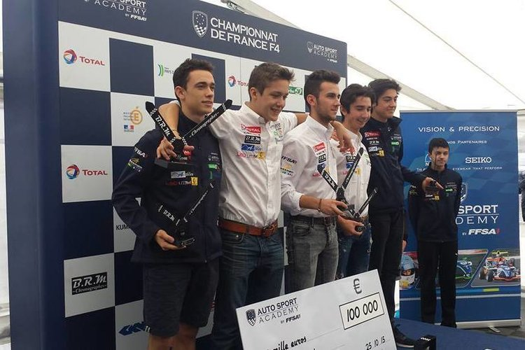 French F4 2015 Awards