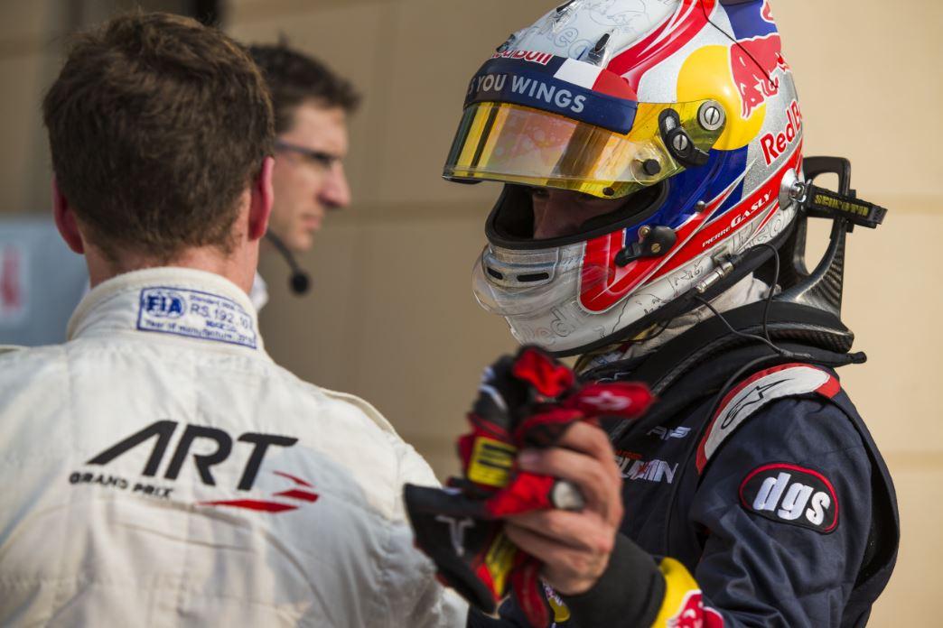 GP2- Pierre Gasly Bahrain