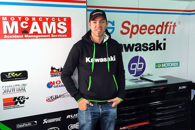 Peter Hickman - Photo Credit: JG Speedfit Kawasaki