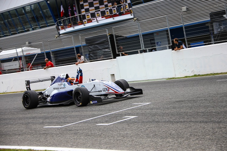 Jack Aitken secured the FR2.0 ALPS title (Credit: Roberto Piccinini/Fast Lane Promotion Srl)