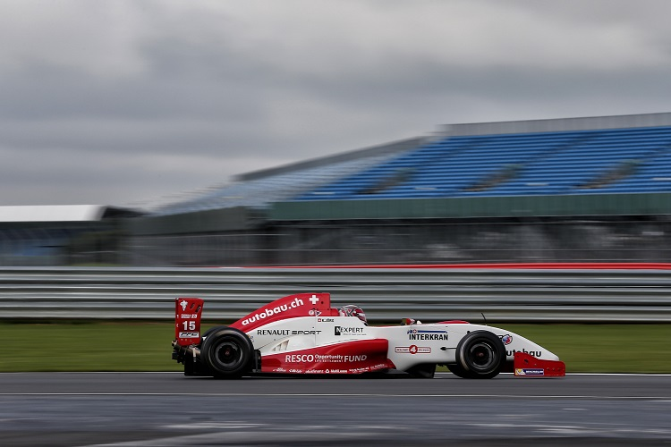 Kevin Jorg finished third in the championship after winning once at Silverstone (Credit: Alexandre Guillaumot  / DPPI)