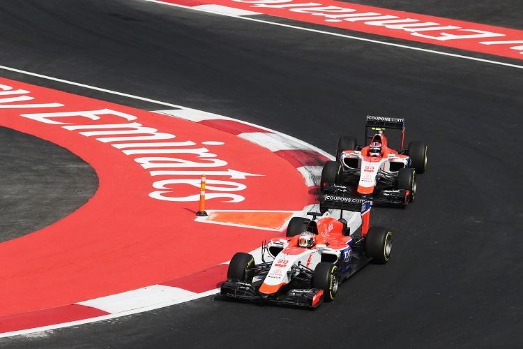 Credit: Manor F1