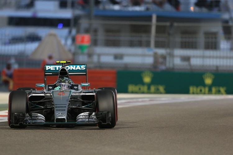 Nico Rosberg 44