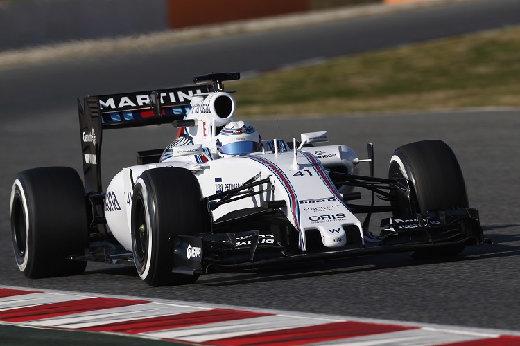 Susie Wolff competed in four official Formula 1 sessions with Williams (Credit: Sam Bloxham/Williams F1)