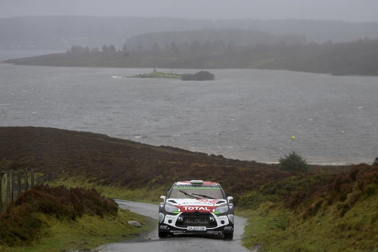 Kris Meeke had a faultless weekend to secure second place - Credit: @World / Red Bull Content Pool