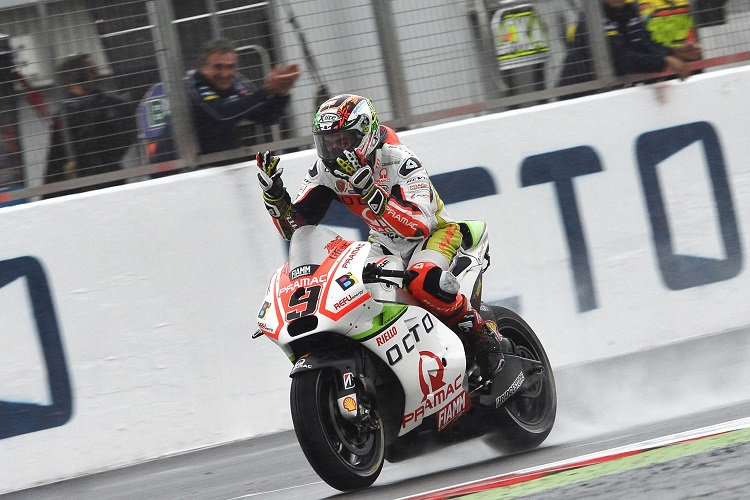 Petrucci's podium was one of the year's most popular results (Photo Credit: MotoGP.com)