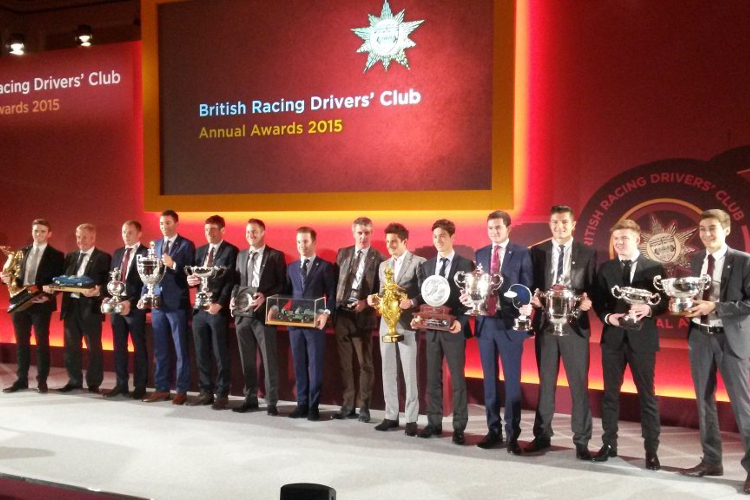 BRDC Awards 2015 - Credit: BRDC/Twitter