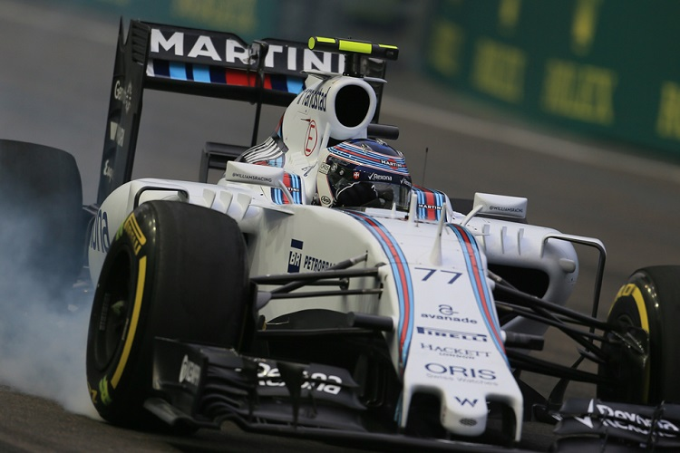Valtteri Bottas missed out on fourth place in the championship by just 14 points (Credit: Octane Photographic Ltd)