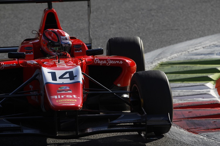 2015 GP3 Series Round 6. Autodromo di Monza, Italy. Kevin Ceccon took two victories in 2015 (Credit: Sam Bloxham/GP3 Series Media Service)