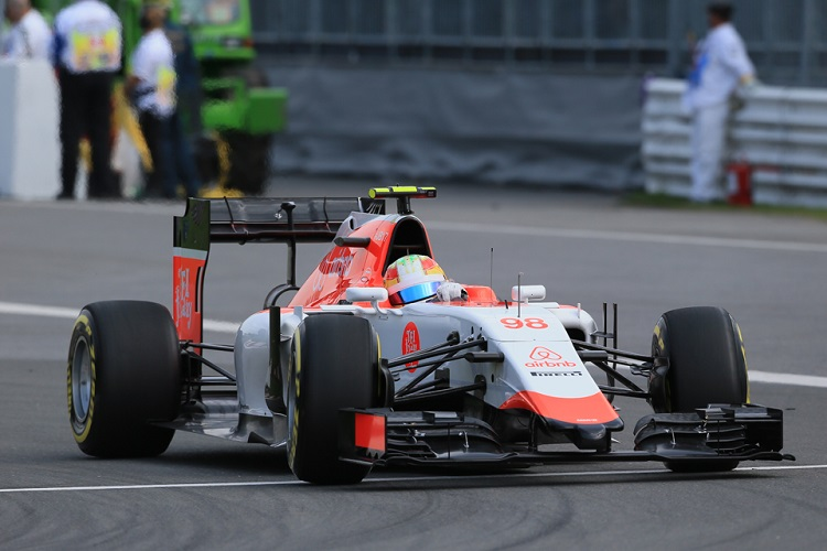Roberto Merhi finished twelfth at Silverstone (Credit: Octane Photographic Ltd)