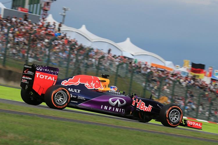 Daniel Ricciardo could not match his 2014 efforts in 2015 (Credit: Octane Photographic Ltd)