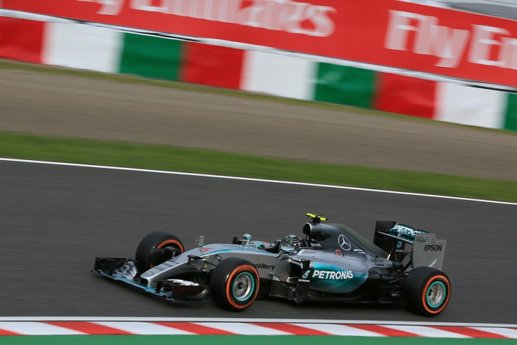 Nico Rosberg took six wins to finish P2 in the championship (Credit: Octane Photographic Ltd)