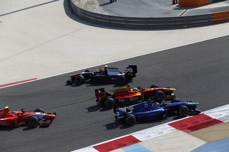 As well as the ups, a lot of drivers fell victim to misfortune many times. Credit: GP2 Series Media Service.