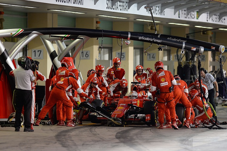 Credit: Ferrari Media Centre