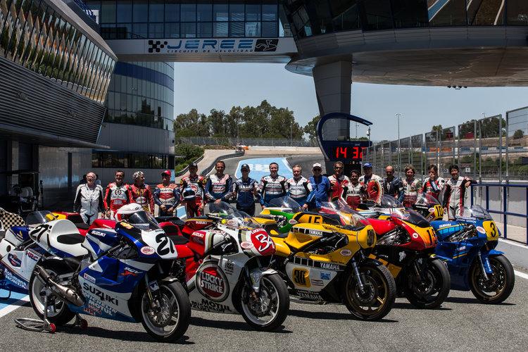 World GP Bike Legends Jerez 2015