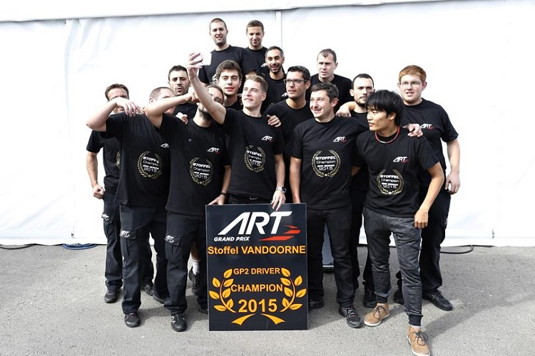 Stoffel Vandoorne claimed the title at the ninth round of the season in Sochi, Russia. Credit: GP2 Series Media Service.