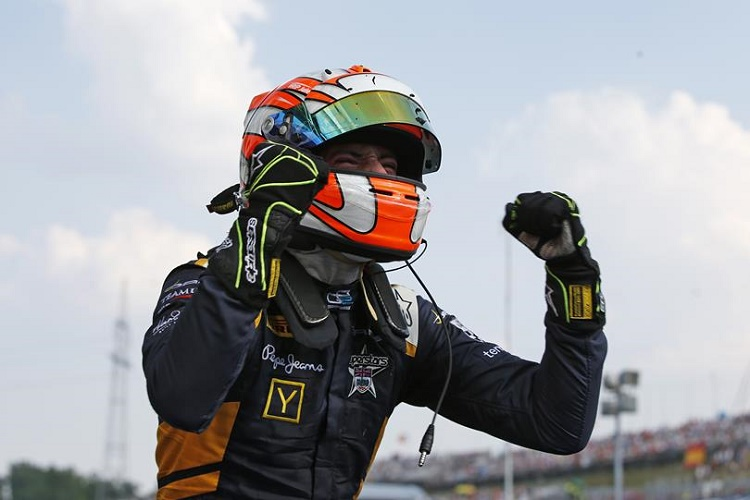 Alex Lynn was the highest placed rookie this season, finishing sixth on 110 points. Credit: GP2 Series Media Service.