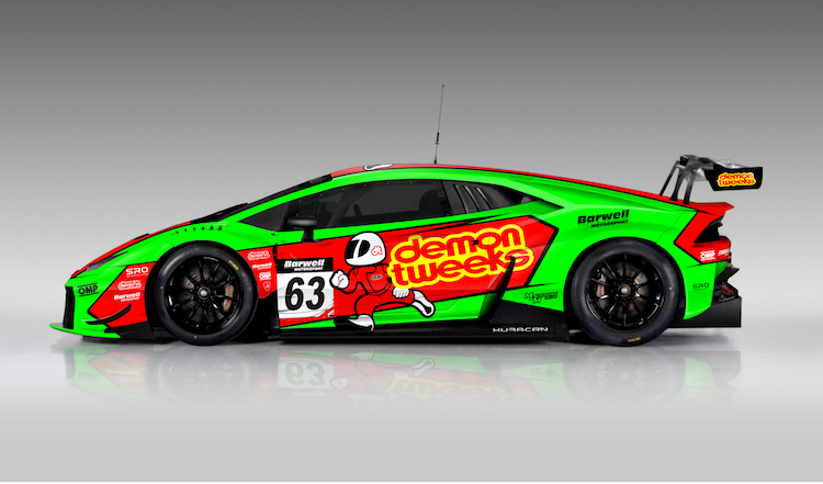 Mini Cup Car >> Minshaw and Keen to take on British GT in Lamborghini - The Checkered Flag