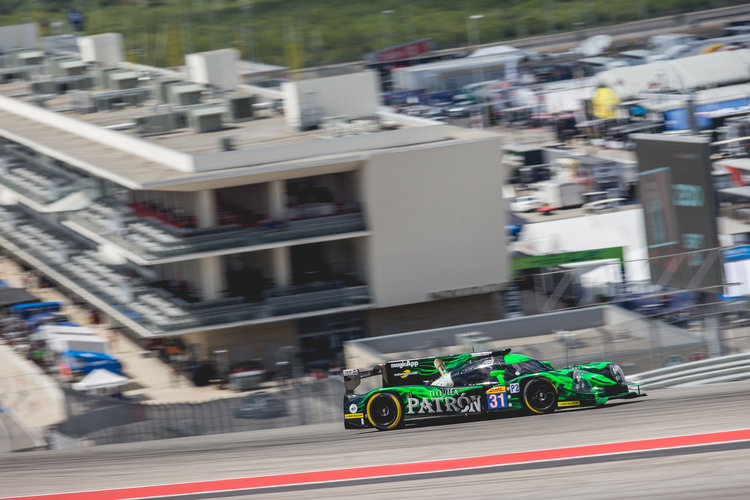 Car #31 / EXTREME SPEED MOTORSPORTS (USA) / Ligier JS P2 - HPD / Ed Brown (USA) / Jonathon Fogarty (USA) / Johannes van Overbeek (USA) - FIA WEC 6 hours of COTA at Circuit Of The Americas - Austin - United States