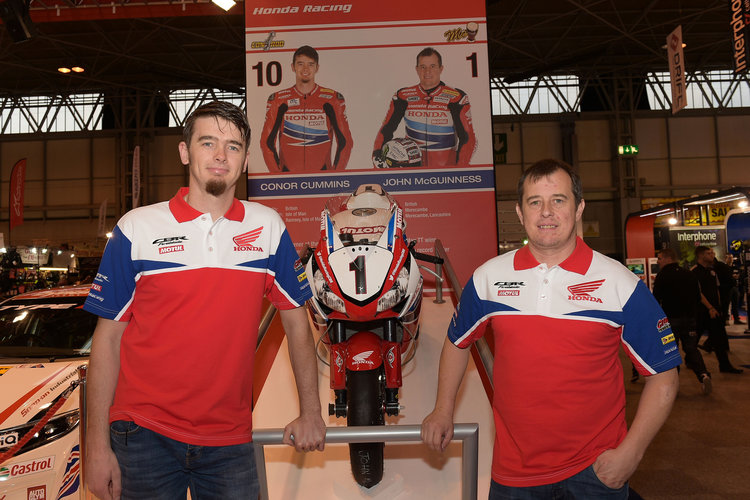 Conor Cummins and John McGuinness