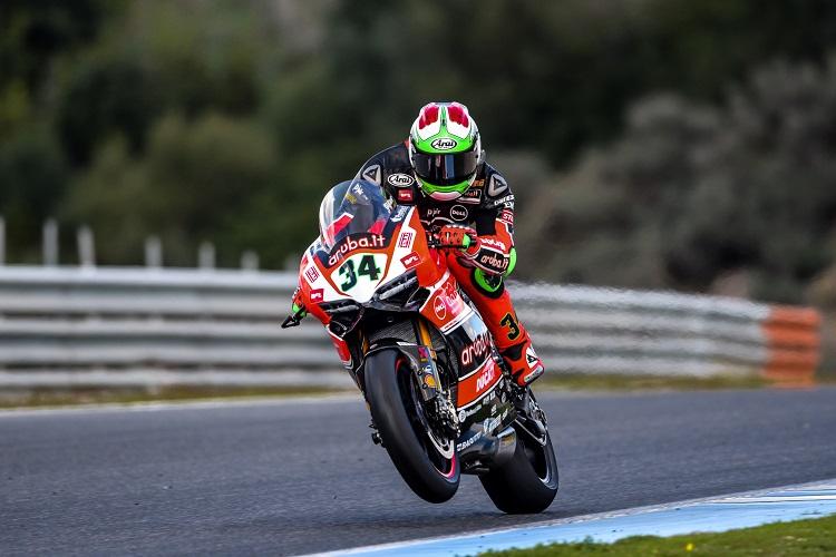 Davide Giugliano - Photo Credit: Ducati