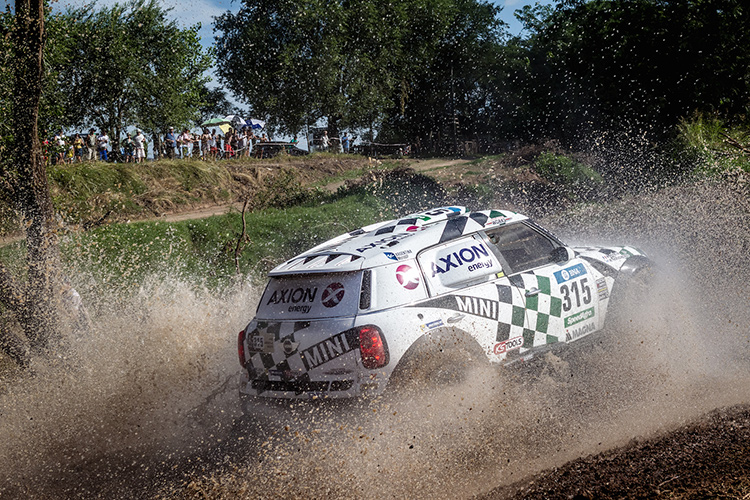 Hirvonen is enjoying his Dakar experience so far - Credit: MINI Motorsport