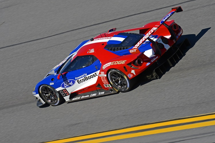 The American brothers of the WEC's two Ford GTs (Credit: IMSA/LAT Photographic)